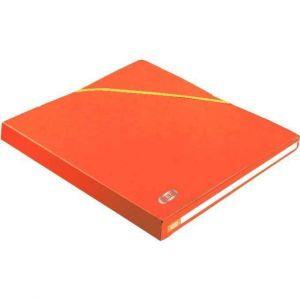 Elba Dossier grande capacité dos 2,5 cm orange - Lot de 20