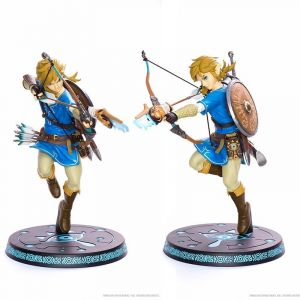 Wtt Statuette First 4 Figures - Breath of the Wild - Link