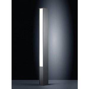 Helestra Lampadaire TENDO LED Noir, 2 lumières Moderne Extérieur LED