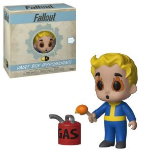 Funko Fallout - 5 Star Vinyl Figure 8 Cm - Pyromaniac Vault Boy [Figurine]