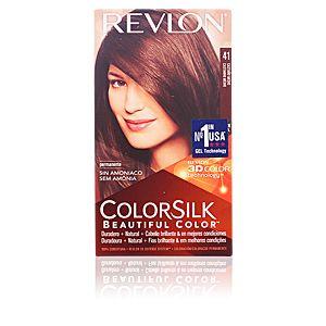 Revlon Colorsilk 41 châtain moyen - Coloration permanente sans amoniaque
