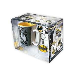 Abysse Corp Pack Mug & Porte-clés & Badges DC Comics - Batman