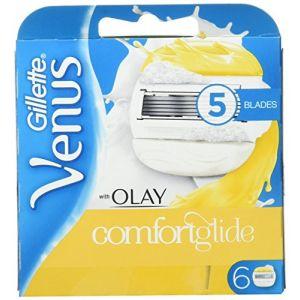 Gillette Venus & Olay Pack de 6 lames de rasoir de rechange