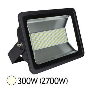 Vision-El Projecteur Ext LED 300W (2700W) IP65 Finition Gris Anthracite Blanc jour 4000°K