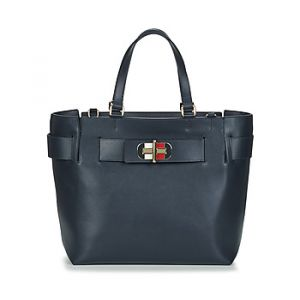 Tommy Hilfiger Sac TURNLOCK TOTE bleu - Taille Unique