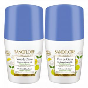 Sanoflore Vent de Citrus - Déodorant roll-on