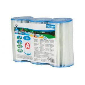 Lot de 3 cartouc s de filtration Type A Intex