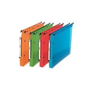 L'Oblique AZ 10 dossiers suspendus translucides pour armoire (fond : 30 mm)