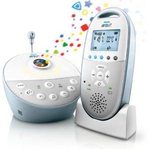 Philips Avent SCD580/00 - Ecoute-bébé sans fil rechargeable