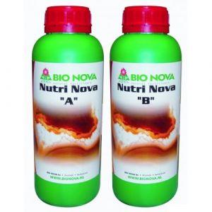 Image de Bio Nova Nutri-Nova A+B 1L,engrais croissance et floraison, hydro, terre, coco