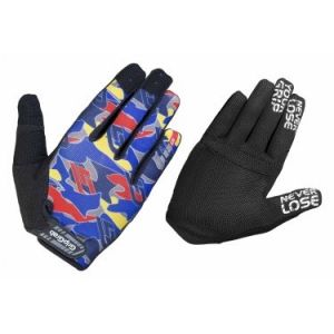 GripGrab Paire de gants longs rebel bleu camo xl