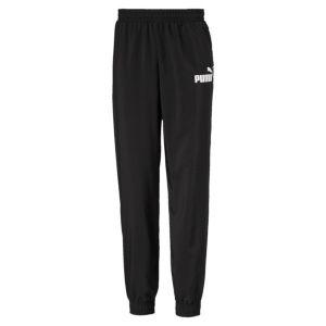 Puma Pantalon de survêtement Essentials tissé pour garçon, Noir, Taille 0150 |