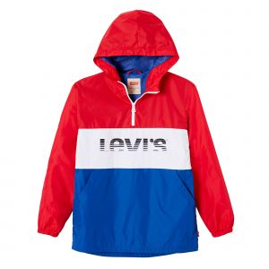 Levi's Coupe vent tricolore Rouge