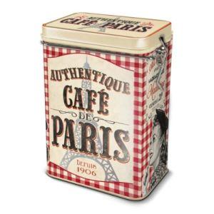 Natives Boîte Café de Paris en métal