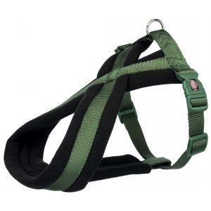 Trixie Premium touring harnais - S-M: 40-60 cm/20 mm, vert forêt