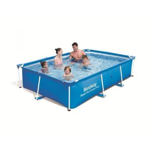 Bestway BEST56403 - Piscine hors sol rectangulaire 259 x 170 x 61 cm