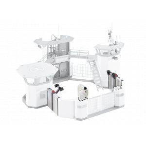 Playmobil Pièces d'Extension pour le Commissariat de Police avec Prison et Système d'Alarme