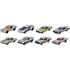 Mattel Hot Wheels - Véhicule 50ème anniversaire Flammes - FRN26