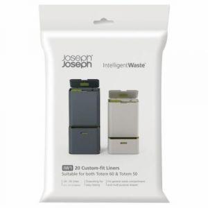 Joseph joseph 20 sacs poubelle universel 36 L