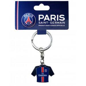 Porte-clés en métal format maillot domicile PSG