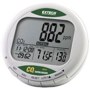 Extech CO210 Appareil de mesure de la qualité de l'air avec enregistreur de données, affichage de la concent