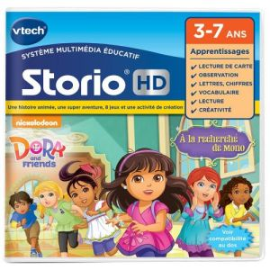 Vtech 272905 - Jeu Storio HD Dora and friends