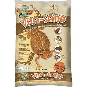 Zoo Med Sable Vita-Sand Gobi Gold pour Reptiles - Zoomed - 4,5Kg