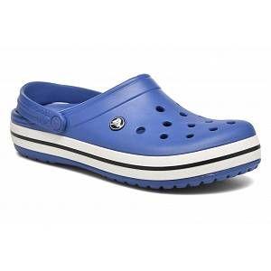 Crocs Crocband, Sabots Mixte Adulte, Bleu (Cerulean Blue/Oyster), 42-43 EU