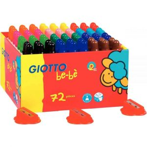 Omyacolor Maxi classpack de 72 crayons de couleur MAXI Bébé