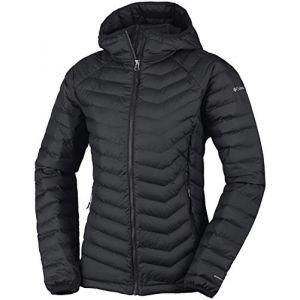 Columbia Sportswear 1699071 Doudoune à Capuche Femme, Noir, FR : L (Taille Fabricant : L)