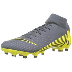 Nike Chaussure de football multi-terrainsà crampons Mercurial Superfly 6 Academy MG - Gris - Taille 42 - Unisex
