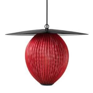 Gubi Satellite Suspension Large, rouge