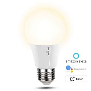 Sengled Ampoule LED E27 dimmable Blanc chaud 2700K,Lampe Wifi contrôlé par App,pas de hub requis,compatible avec Amazon Alexa & Google Assistant, 60W équivalent