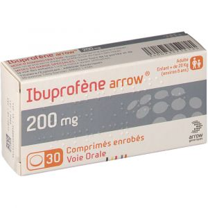 Arrow Ibuprofène 200 mg - 30 Comprimés