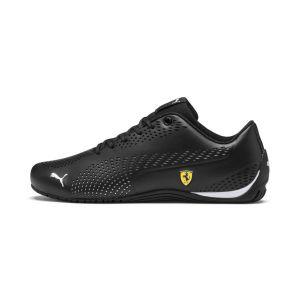 Puma Ferrari Drift Cat 5 Ultra II Sneaker Black White 8.5