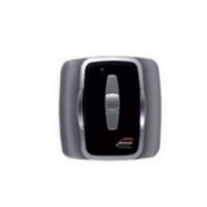 Image de Burda Interrupteur/télécommande murale noir, pour piloter rampe chauffange - BRDS1.