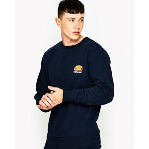 ELLESSE Diveria SHS02215 Sweatshirt pour Homme S Bleu