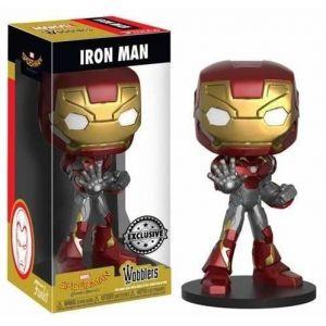 Funko Figurine Wacky Wobblers Marvel - Spider-Man Homecoming: Iron Man