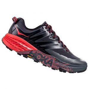 Hoka one one Chaussure trail running Hoka-one-one Speedgoat 3 - Dark Shadow / Poppy Red - Taille EU 38 2/3