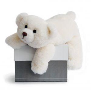 Histoire d'ours Peluche Ours polaire Snow 30 cm