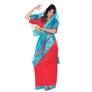 Bollywood Dame Volw en Maat [Party Supplies]