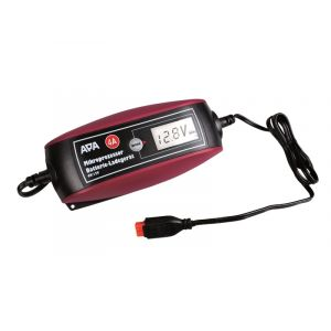 APA Chargeur De Batterie 6/12v 4a Pour Moto Et Auto