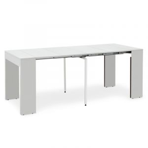 Table Offres Laque Comparer Extensible 262 Blanc ED2YbW9IeH