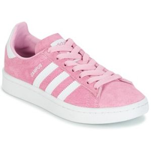 Adidas Campus, Baskets Basses Mixte Enfant, Rose (Frost Pink/Footwear White/Footwear White), 38 2/3 EU