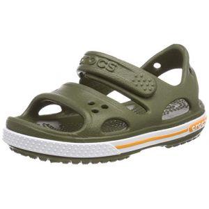 Crocs Crocband Ii Sandal, Sandales Bout Ouvert Mixte Enfant, Vert (Army Green 309) 33/34 EU