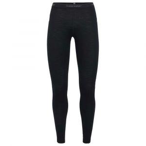 Icebreaker Women´s 200 Oasis Leggings - Sous-vêtement mérinos taille XL, noir