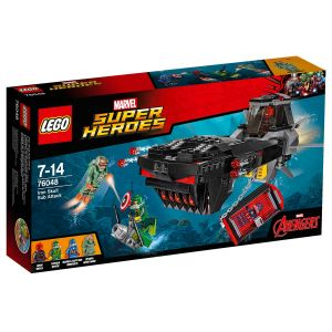 Lego 76048 - Super Heroes Marvel : L´attaque en sous-marin d´Iron Skull
