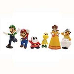 Abysse Corp Coffret de 6 figurines Super Mario