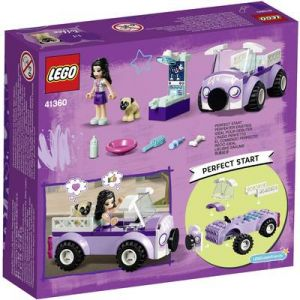 Lego Friends 41354 - La clinique vétérinaire mobile d'Emma