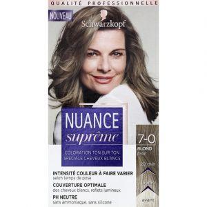Schwarzkopf Coloration ton sur ton spéciale cheveux blancs, PH neutre